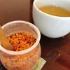 おびひろ縹 - 料理写真:唐辛子とそば茶