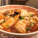 紅虎餃子房 - 広東麺
