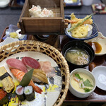 山内屋 - 料理写真:竹定食(1,980円)