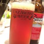 燻製バル けむパー - 田沢湖ビール。[ラオホビール]