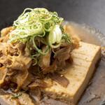 お肉たっぷり肉豆腐