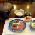 仙石高原大箱根一の湯 - 夕食のセット