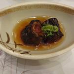 仙石高原大箱根一の湯 - 茄子の挽肉巻き