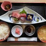 女川海の膳ニューこのり - 刺身定食屋の五洋1600円です