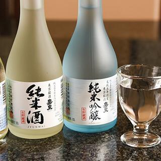 季節ごとに愉しむ地酒ほか、種類豊富なお酒を幅広くラインアップ