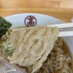 Temomichuukasobatakahashi - 平麺 ちぢれ麺