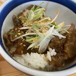 Temomichuukasobatakahashi - 鶏かす丼