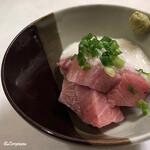 レストラン熊さん - 天然本鮪のトロブツ