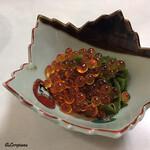 レストラン熊さん - 和布蕪と味付いくら