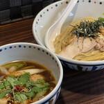 らー麺 あけどや - 限定麺 大山どり南蛮つけ麺