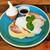 森のサーカス cafe & family restaurant - 料理写真:ふっかふかのお布団みたいに分厚いたまご色のパンケーキが3枚!生クリームやメープルシロップとソフトクリーム付き、スフレパンケーキ1,180円