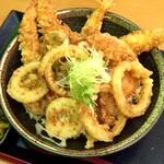 味平 - 天丼(普通盛り)