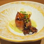 Sushihajime - ホタルイカとソラマメのすり流し