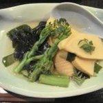 たぬ吉 - 若筍(土佐)煮