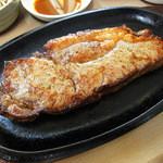 うまいものや 麺遊喜  - ステーキアップ!!