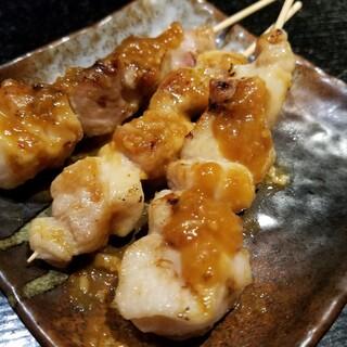 ☆絶品!焼き鳥・鳥料理☆焼鳥ブカンド串は1本何と55円!!
