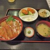 姉妹 - 料理写真:ヒラマサ漬け丼とカキフライセット¥880