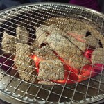 炭火焼肉 明石魚の棚 肉焼屋 - 七輪