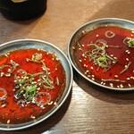 炭火焼肉 明石魚の棚 肉焼屋 - 焼肉のタレ