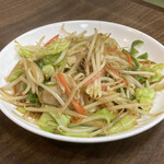 酒蔵一平 - 野菜炒め