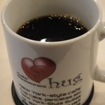 New York Garden Place hug - ホットコーヒー ※お替り自由