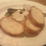 サンブーカ - クリームチーズとツナのパテ