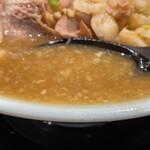 ラーメン 盛太郎 - 【再訪】スープ