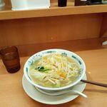 日高屋 - 野菜たっぷりタンメン350円