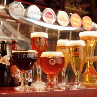 フルーツやハーブ香るベルギービール