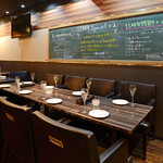 cheese dining K-style - 店内 8名