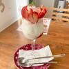 コーヒーラウンジ どんぐり - 料理写真:いちごのミニサンデー ¥650 (税込)