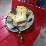 アリンコ モウ ダッシュ - 家で、あんバター&マスカルポーネ