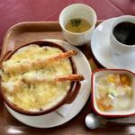 レストラン コロナ - 大海老ドリアセット