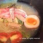 龍旗信 - 龍旗信の塩冷麺(ジュニア)900円