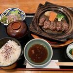 萬寿野 - 陶板焼き定食