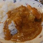プティレストラン宮本 - カレーはまろやかで美味しかったです