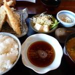 矢乃家 - 【お昼の定食 600円】