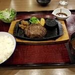 タルタルハンバーグ 牛忠 - タルタルハンバーグランチ230g(税別1,600円)