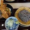 ごまそば高田屋 - 料理写真:ごまそばと天丼のセット
