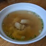 ドライブイン鳥 - 鳥スープ