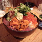 漁師小屋 番屋 - 大漁丼の大(税込2090円)