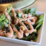 牛ざんまい - 野菜たっぷりサラダ