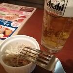 札幌スープカレー本舗 - ごぼうサラダ、生