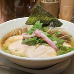 148358635 - 煮干し、蛤、鶏のトリプルSOBA                                   1000円