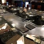 oumigyuusemmontenresutorammatsukiya - 1階 ステーキカウンター