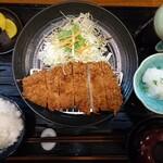 どれ味 - 料理写真:おろしロースかつ定食