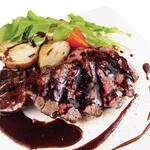 洋食コノヨシ - 本日のビーフステーキ 300g
