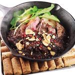 洋食コノヨシ - ともさんかくの贅沢ステーキ(山わさび醤油ソース)