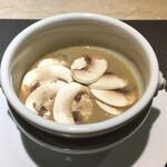 148374525 - マッシュルームのスープ