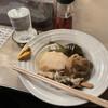 Asahiya - 料理写真:おでんと焼酎生で梅シロップ少々